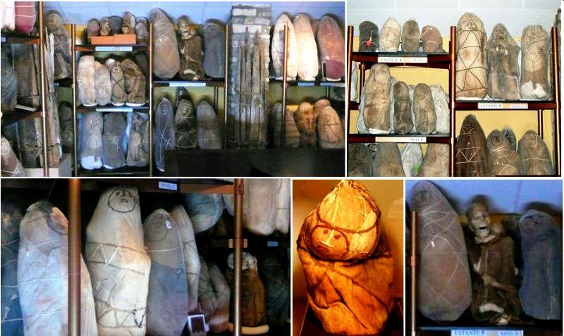 саркофаги в пещерах карахии