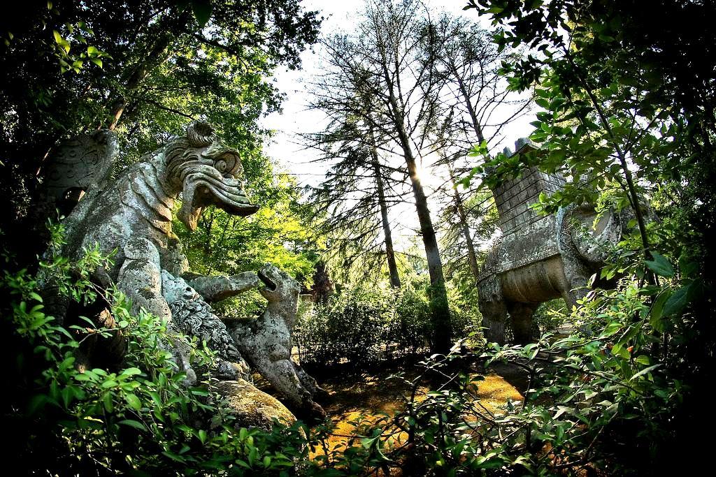 священный лес