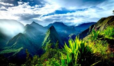 ландшафт Реюньона