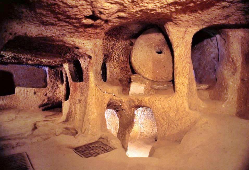 подземный город каппадокия