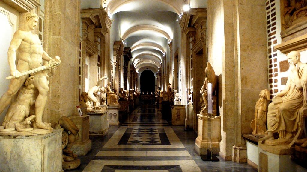 интерьер капитолийских дворцов