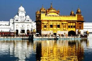 золотой храм днем