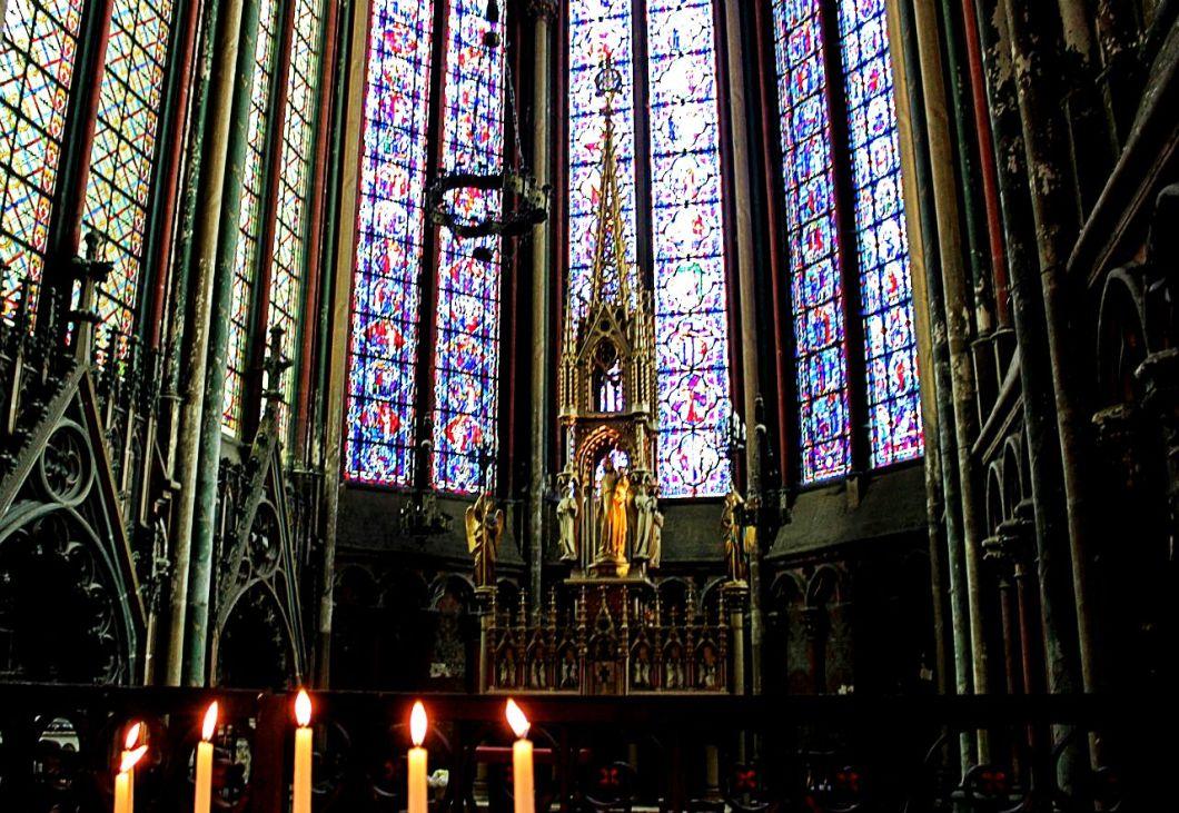 алтарь амьенского собора