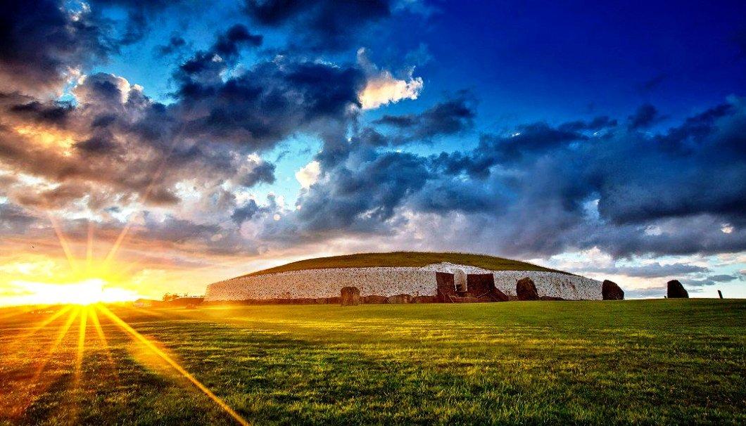 восход солнца в Ирландии