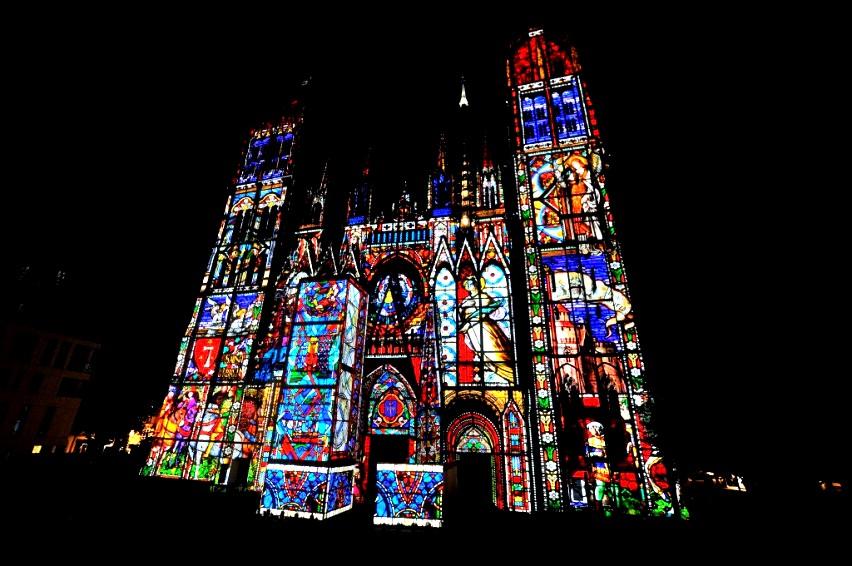 вид руанского собора