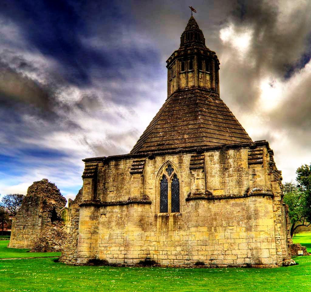 церковь гластонбери