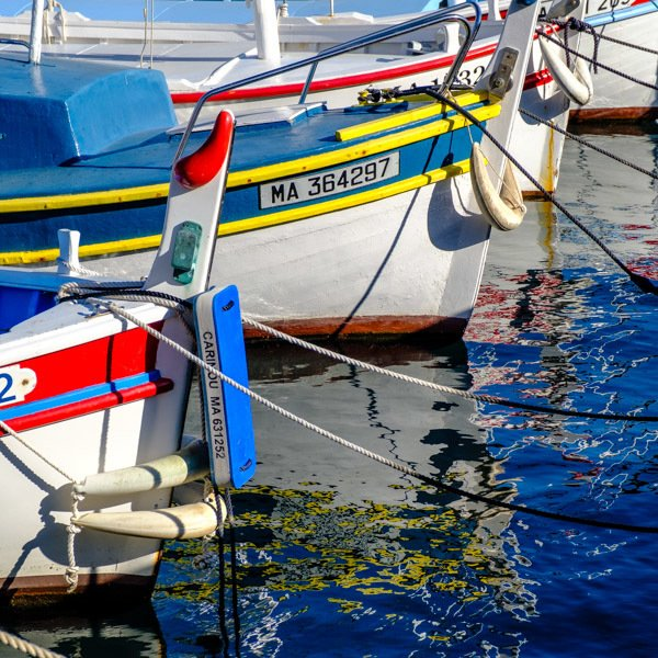 Boats, Cassis, France