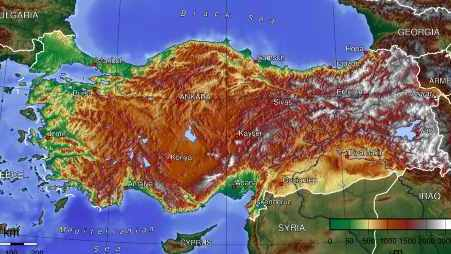 Geography of Turkey