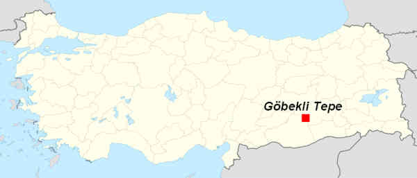 Map of Gobeklitepe