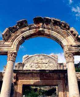Guide to Temple of Hadrian in Ephesus