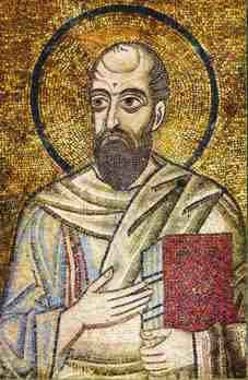 Apostle Paul Mosaic Ephesus