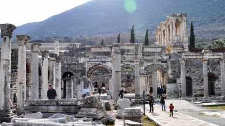 Ephesus Agora Tetragonos