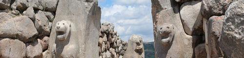 Hattusha's Famous Lion Gate