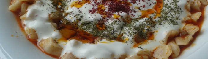 Manti - Turkish Ravioli