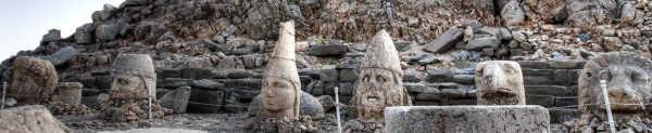 Statues of Gods on Mount Nemrut