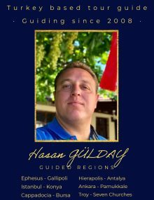 the best tour guide in Turkey Hasan Gulday