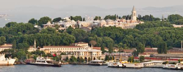 Location of Topkapı Palace