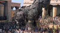 Trojan Horse in Troy Movie