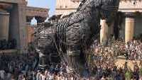 Trojan Horse in Troy Movie