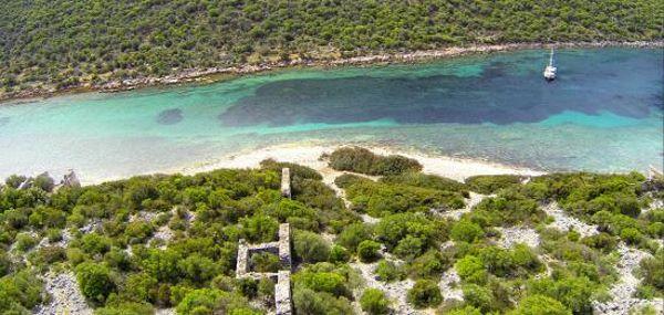 Coast of Aperlai, Turkey