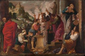 Paul and Barnabas at Lystra - Jacob Pynas, Metropolitan Museum of Art