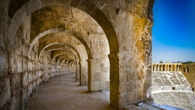 Support Arches of Aspendos Theater