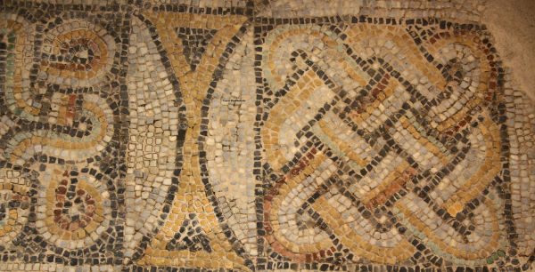 2nd century AD Roman Mosaic Discovered in Istanbul