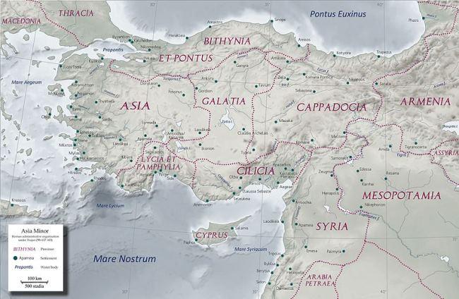 Roman Provinces of Asia Minor