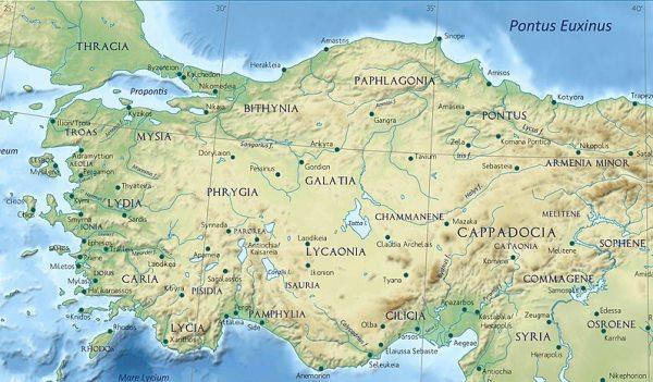 Cilicia Province of Roman Empire
