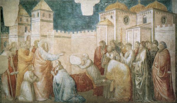 Drusiana's Resurrection by Saint John the Evangelist in Ephesus