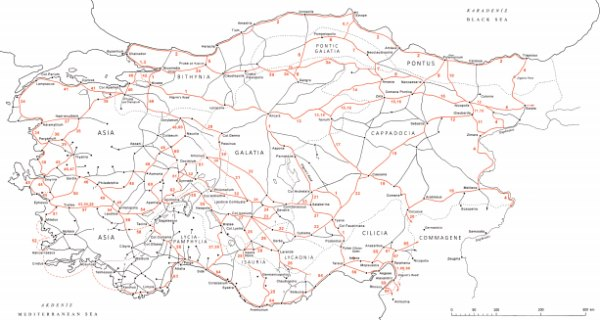 Roman Roads in Asia Minor