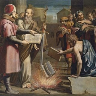 The Burning of the Books on Magic in Ephesus