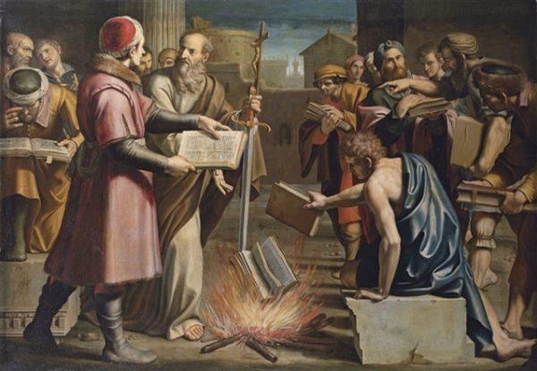 The Burning of the Books on Magic in Ephesus