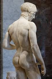 Ares Statue in Louvre Museum by Heracleides the Sculptor from Ephesus