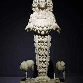 Goddess Artemis, also known as ''the lady of Ephesus, Statue in Ephesus Archeological Museum