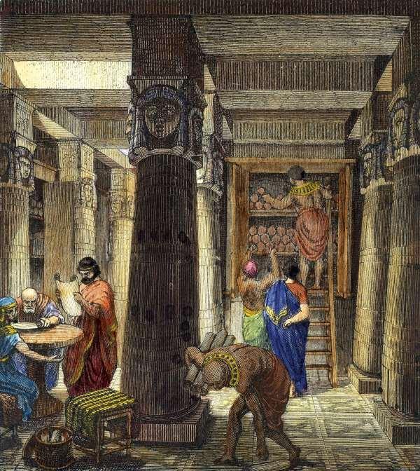 Library of Alexandria Directed by Zenodotus of Ephesus