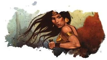 Otrera the Mother of Amazons