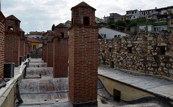 Roof of Caravansary in Kusadasi