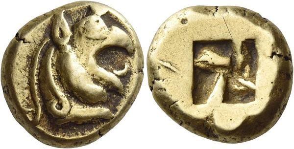 Coin from Phokaia, Persian Era