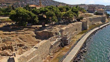 Phokaia or Phocaea Ancient City