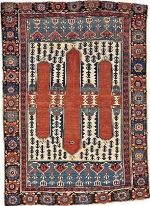 Bergama Carpet from 18th Century