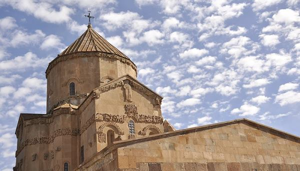 Cathedral of the Holy Cross, also known as Aghtamar in Van, Turkey