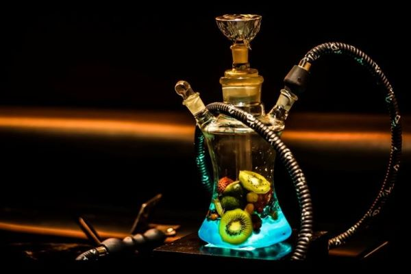 Hookah with fruit flavors