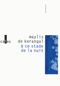 A ce stade de la nuit de Maylis de Kerangal
