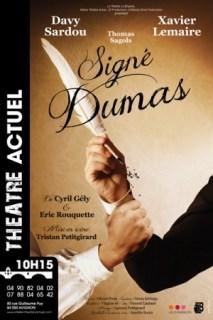 Signé Dumas de Cyril Gély et Eric Rouquette