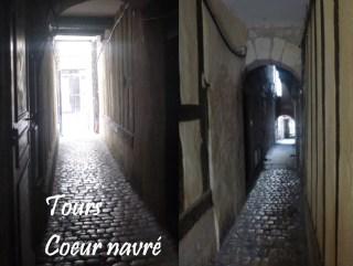 visite itineraire Passage du Coeur Navré Tours