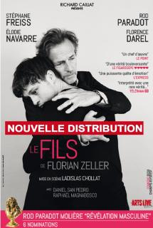 theatre le fils Florian Zeller Ladislas Chollat Stéphane Freiss Rod Paradot