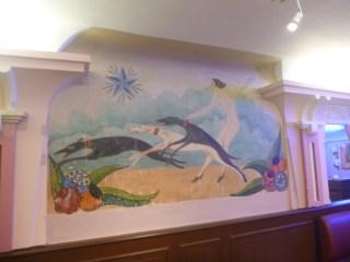 fresque etoile bleue maison tolerance tours art deco