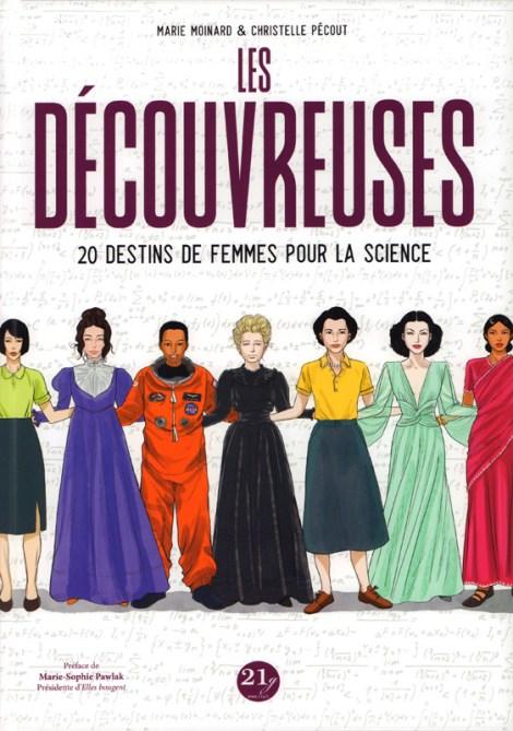 BD 20 destins de femmes pour la science Marie Moinard, Christelle Pécout