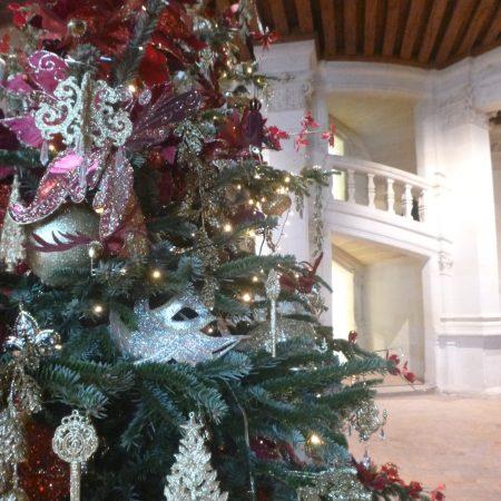 visiter château chambord Noël